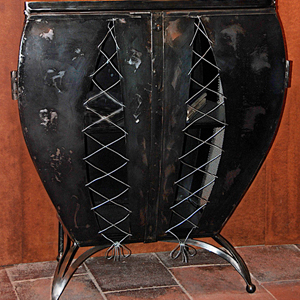 Commode corset-Sous titre Item
